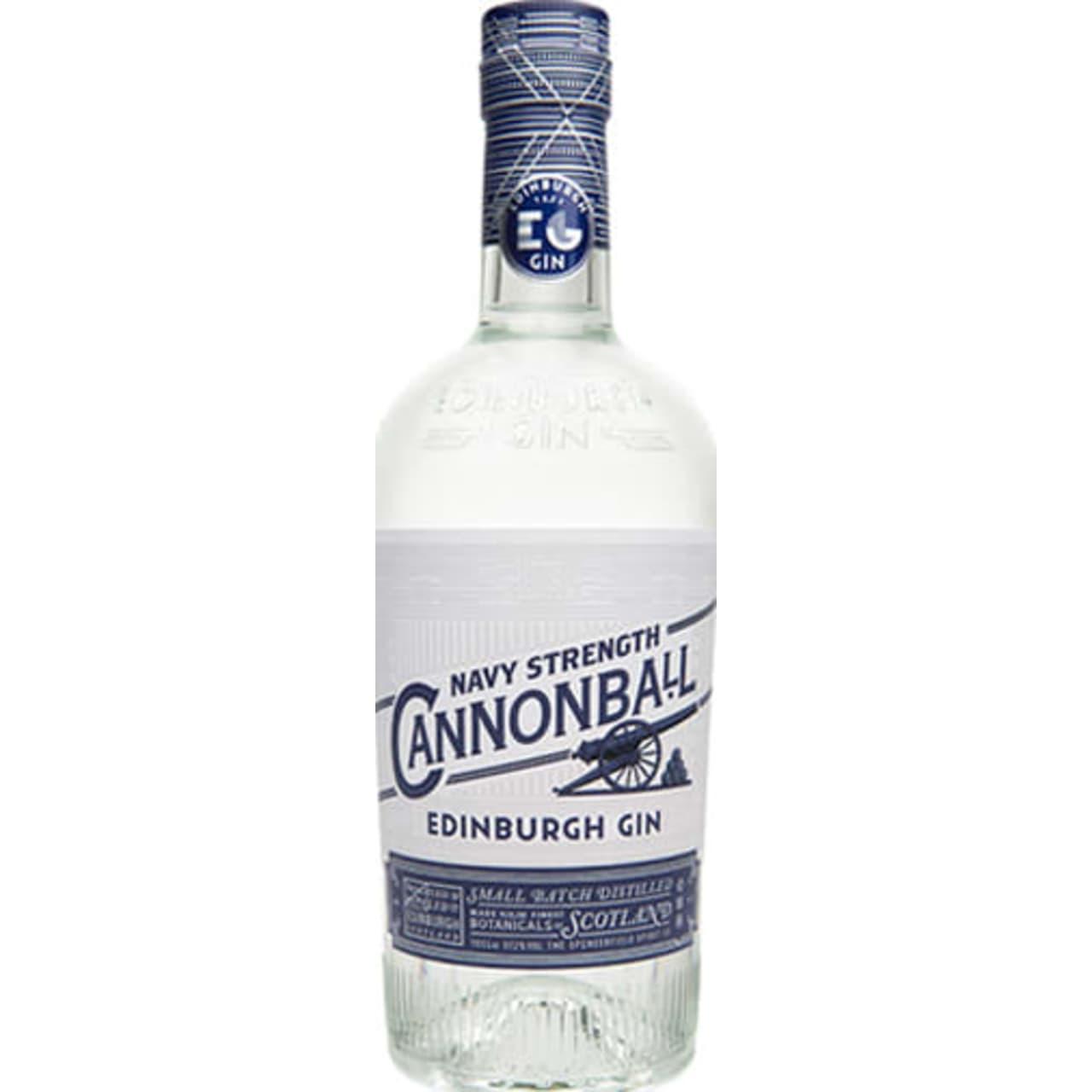 Product Image - Edinburgh Gin Cannonball Navy Strength Gin