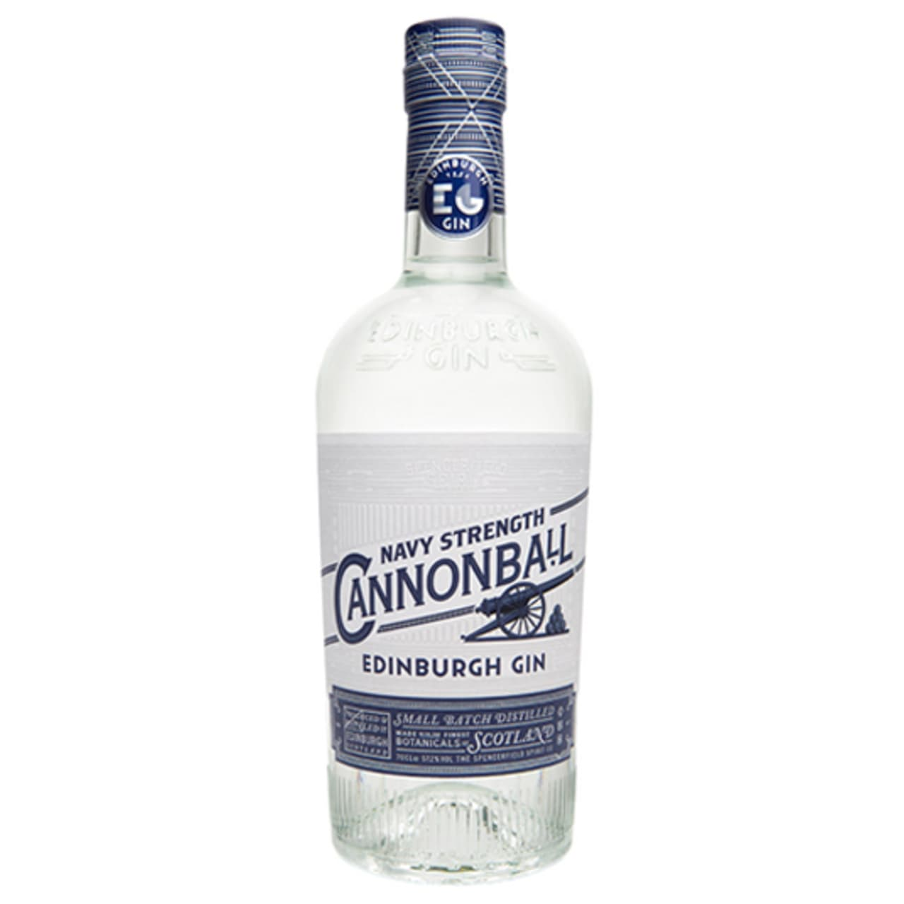 Product Image - Edinburgh Gin Cannonball Navy Strength Gin