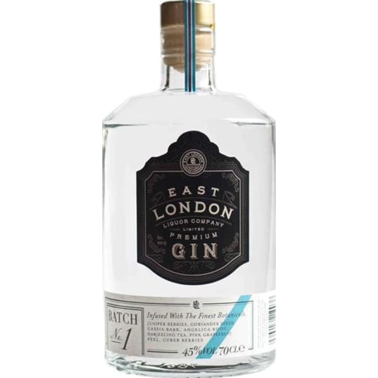 Product Image - East London Liquor Company Premium Gin Batch No.1