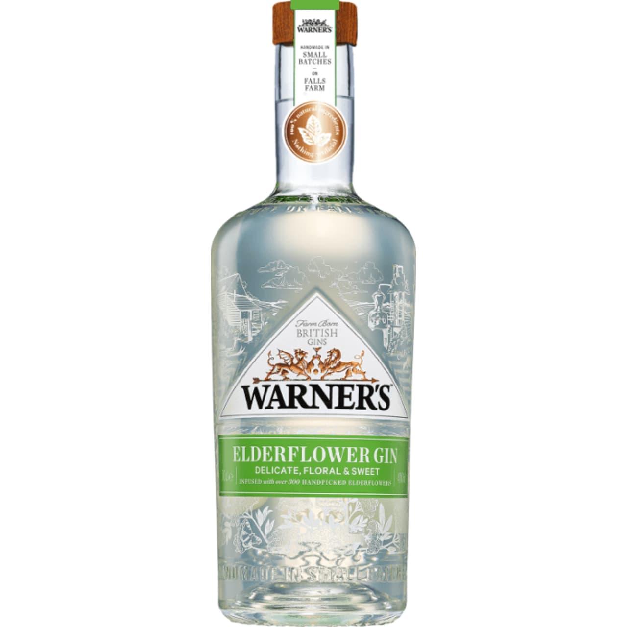 Product Image - Warner's Elderflower Gin