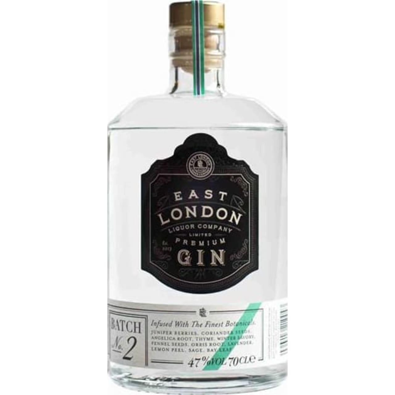Product Image - East London Liquor Company Premium Gin Batch No.2