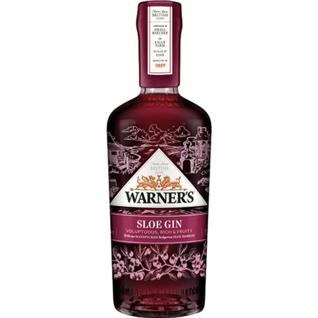 Product Image - Warner's Harrington Sloe Gin