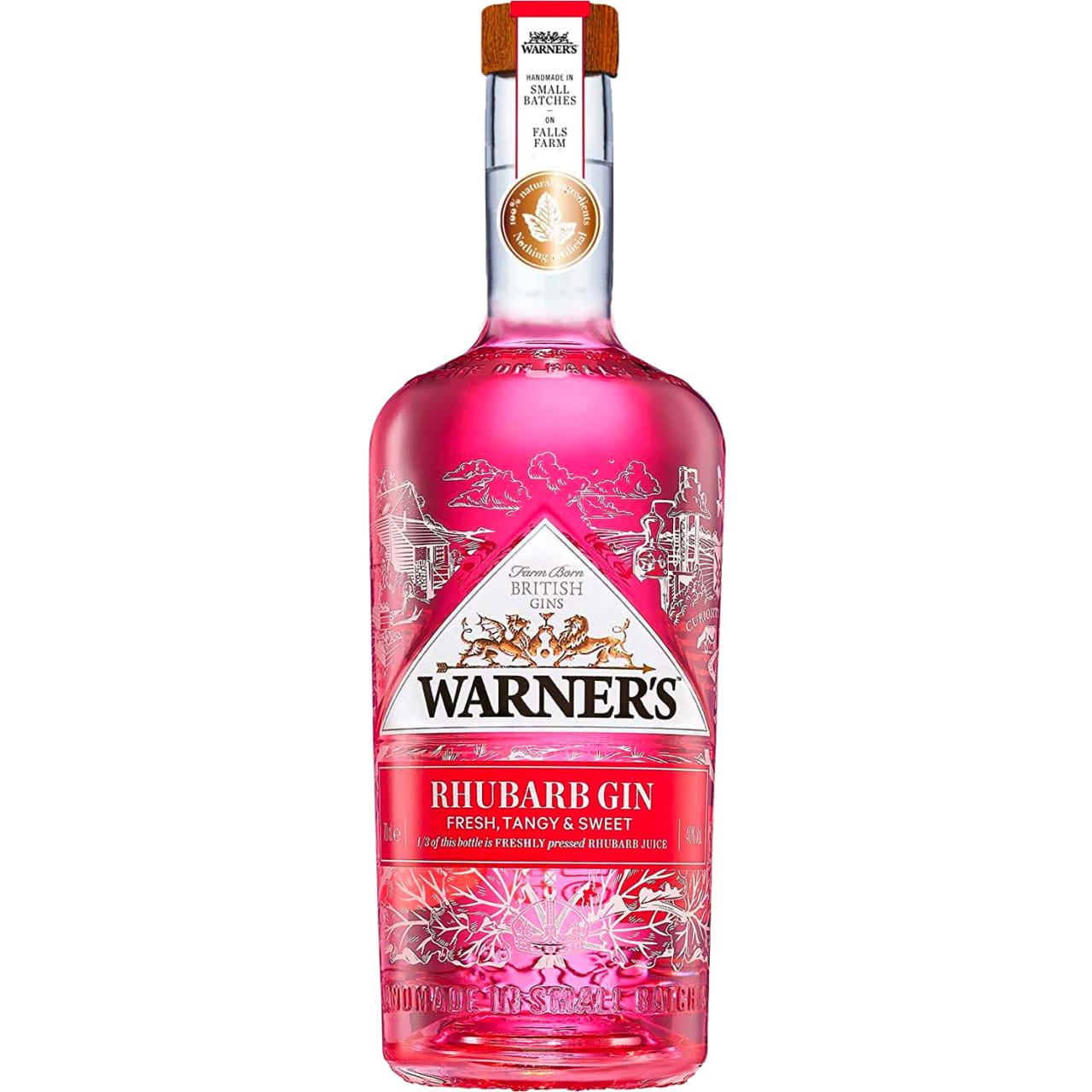 Product Image - Warner's Victoria Rhubarb Gin