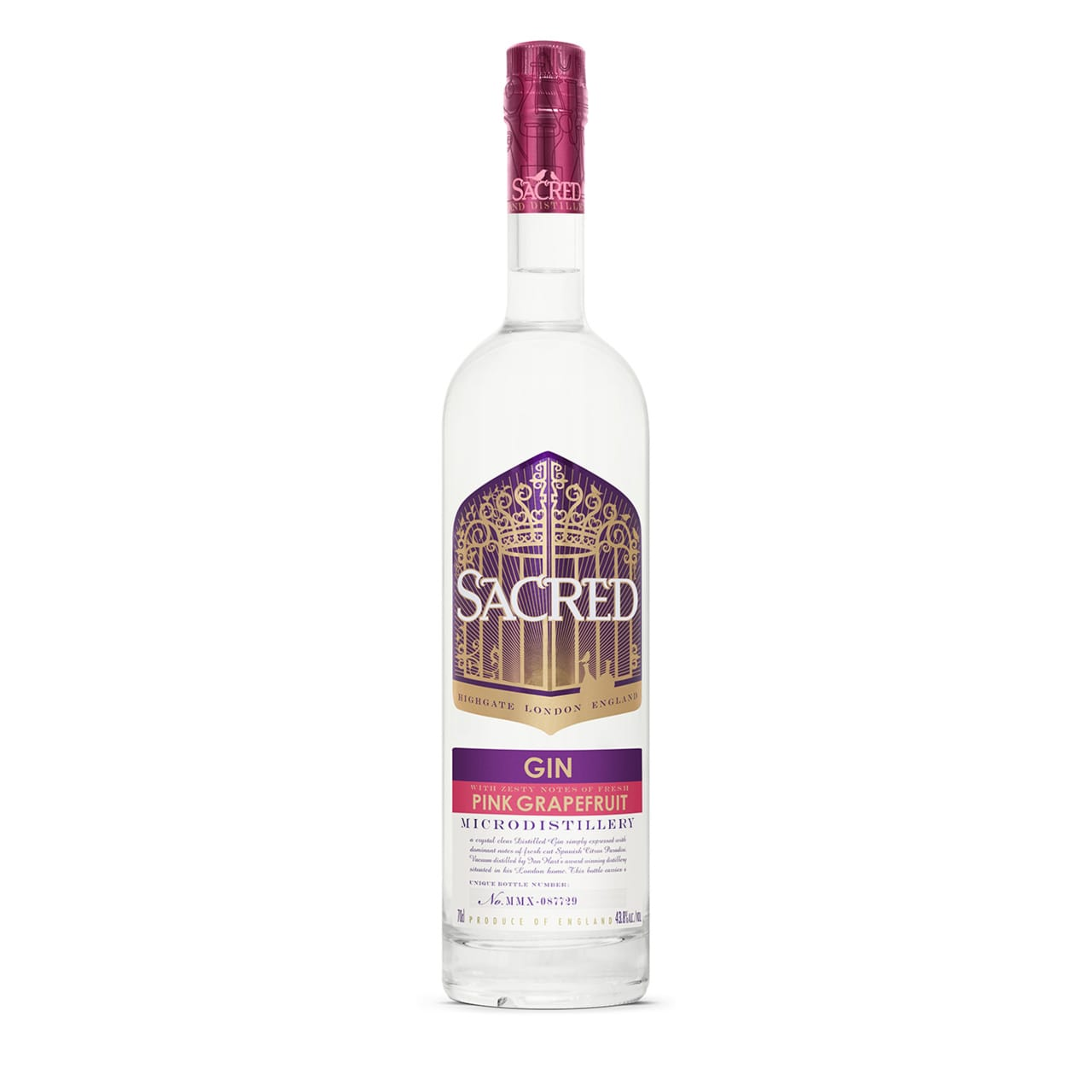 Product Image - Sacred Pink Grapefruit Gin