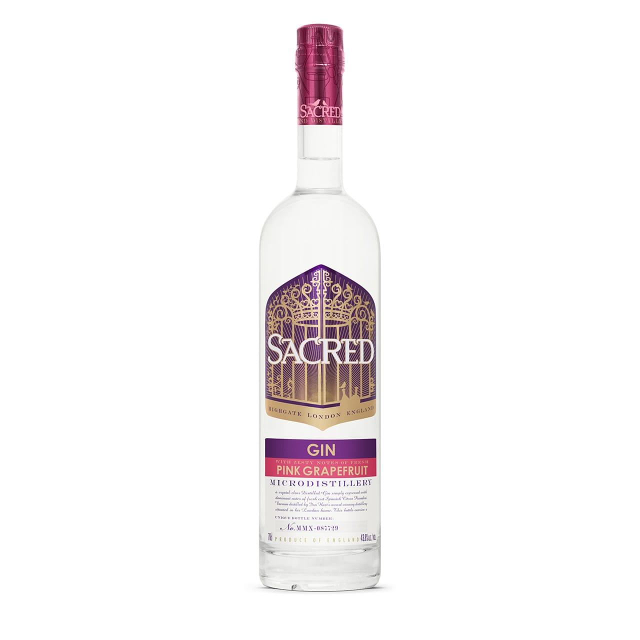 Product Image - Sacred Pink Grapefruit Gin