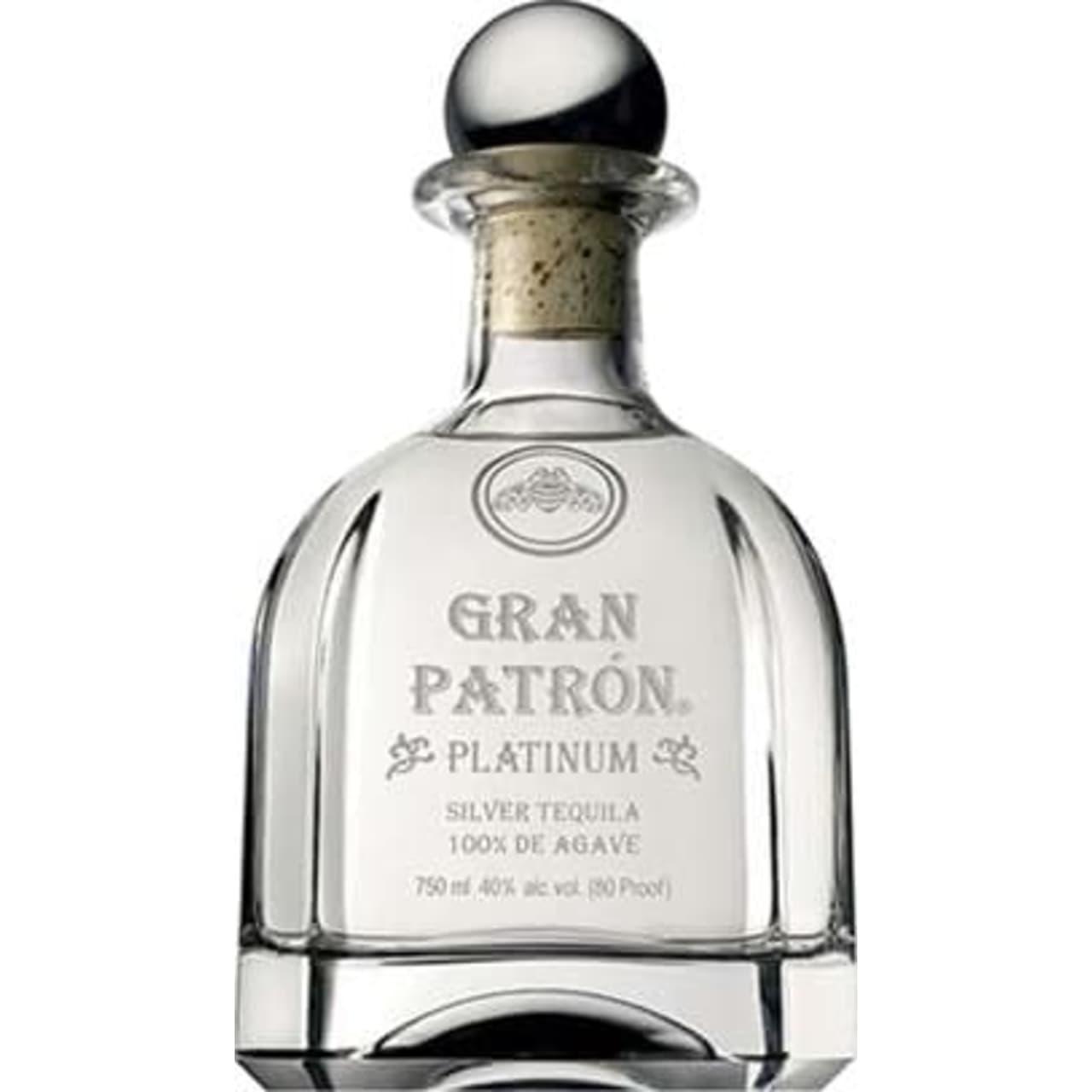 Product Image - Patrón Gran Platinum Tequila