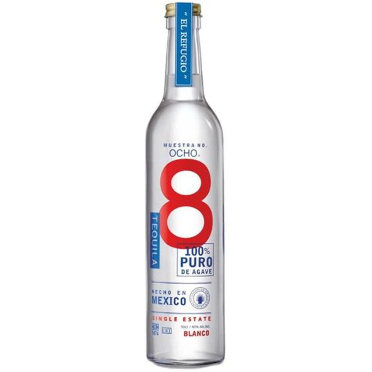 Product Image - Ocho Blanco Tequila
