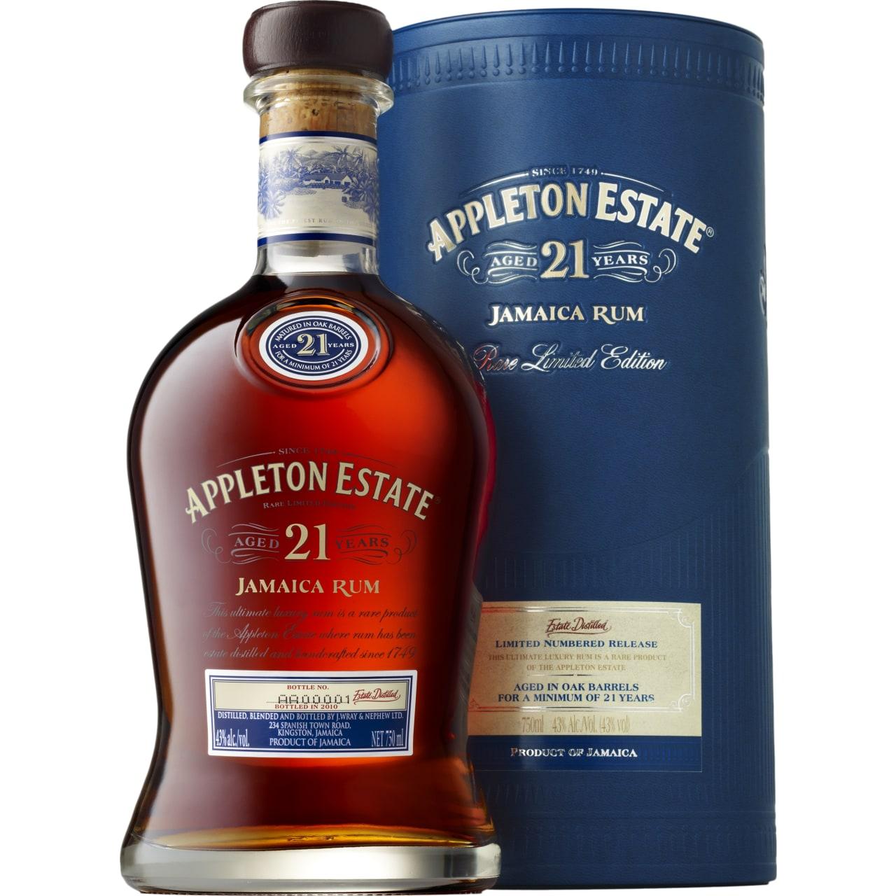 Product Image - Appleton Estate 21yo Rum
