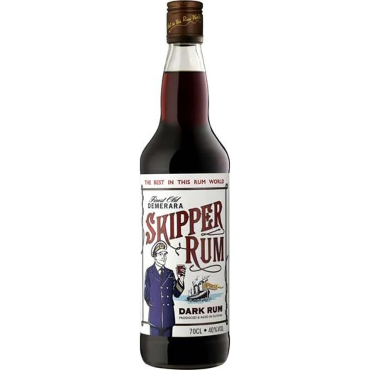 Product Image - Skipper Demerara Rum