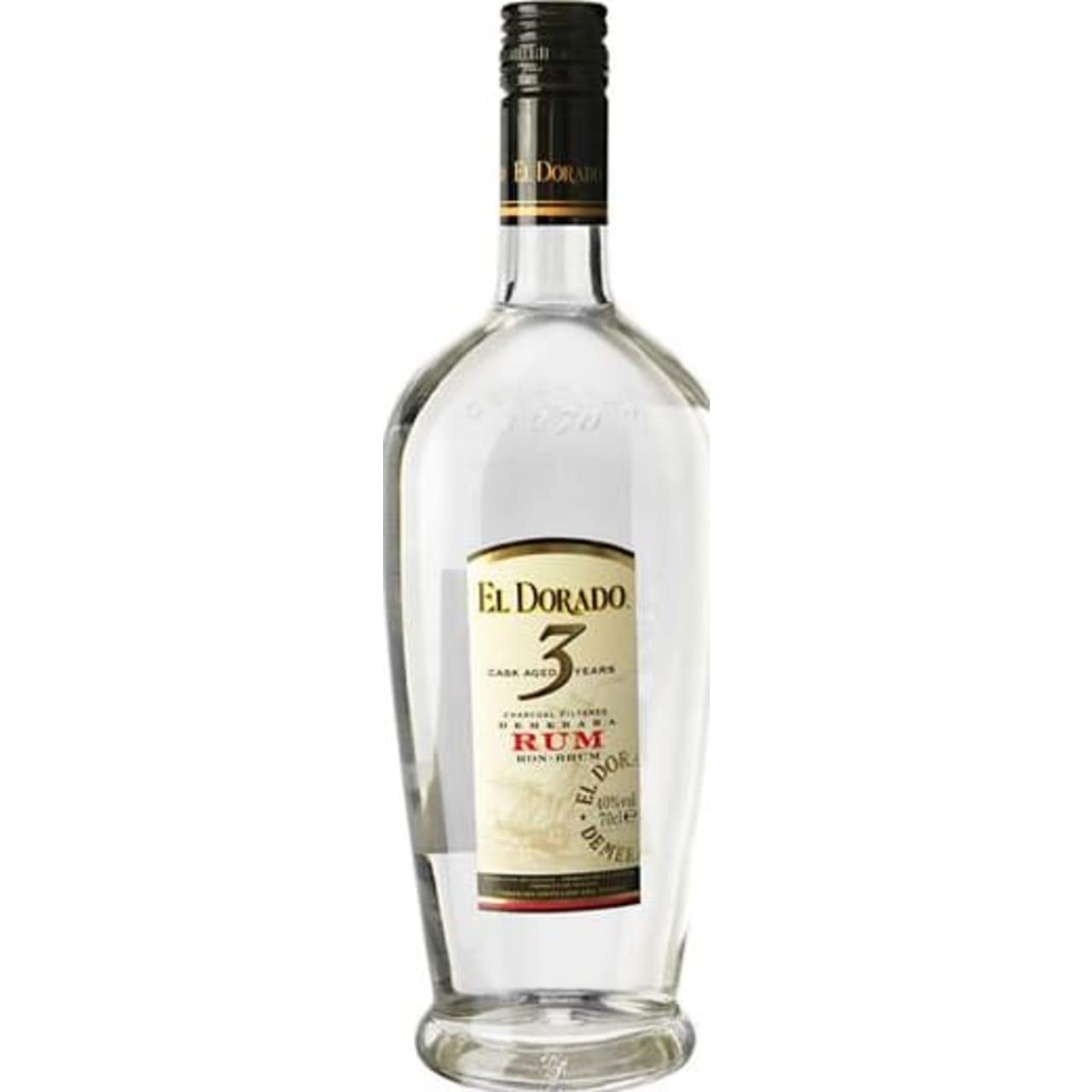 Product Image - El Dorado 3yo Blanco Rum