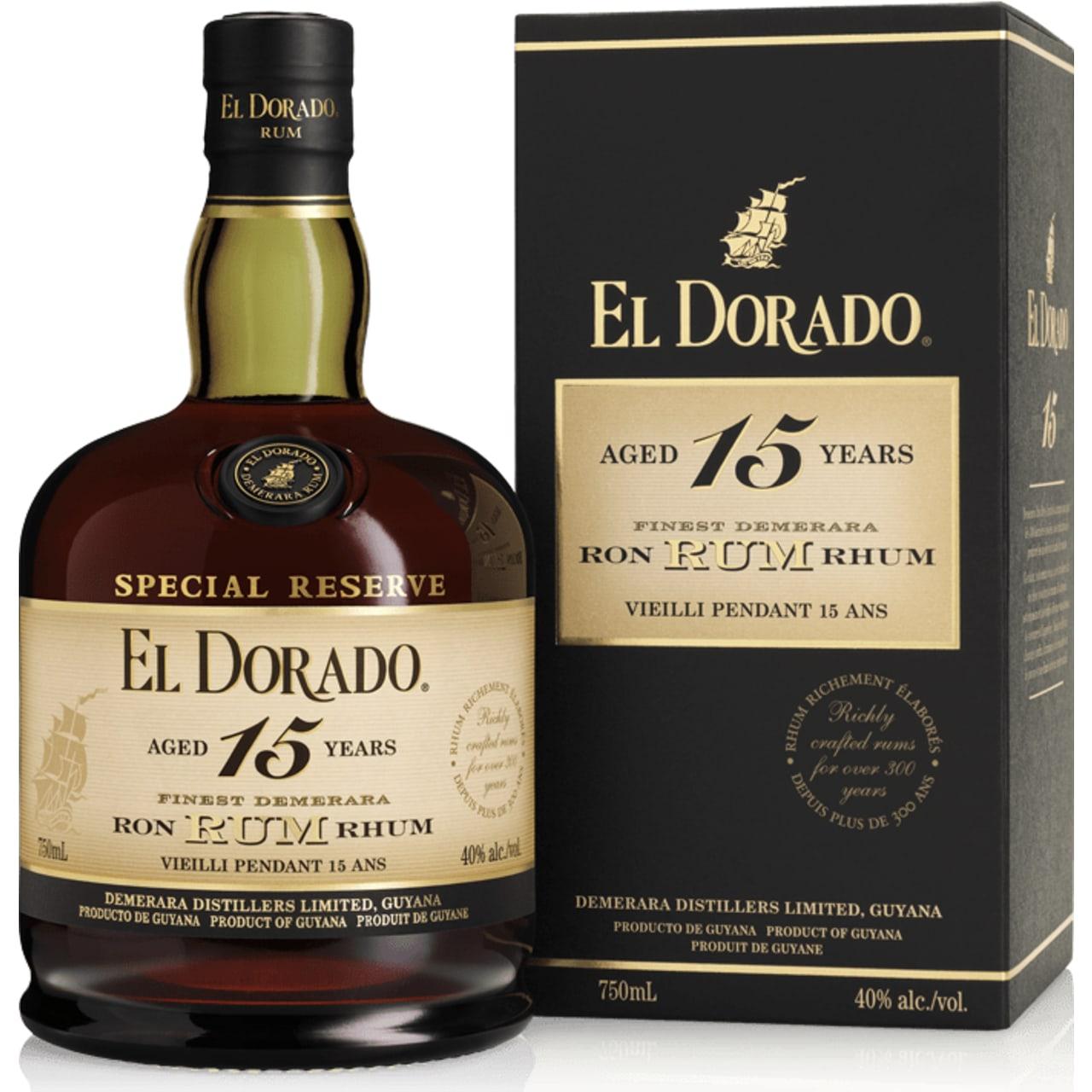 Product Image - El Dorado 15yo Special Reserve Rum