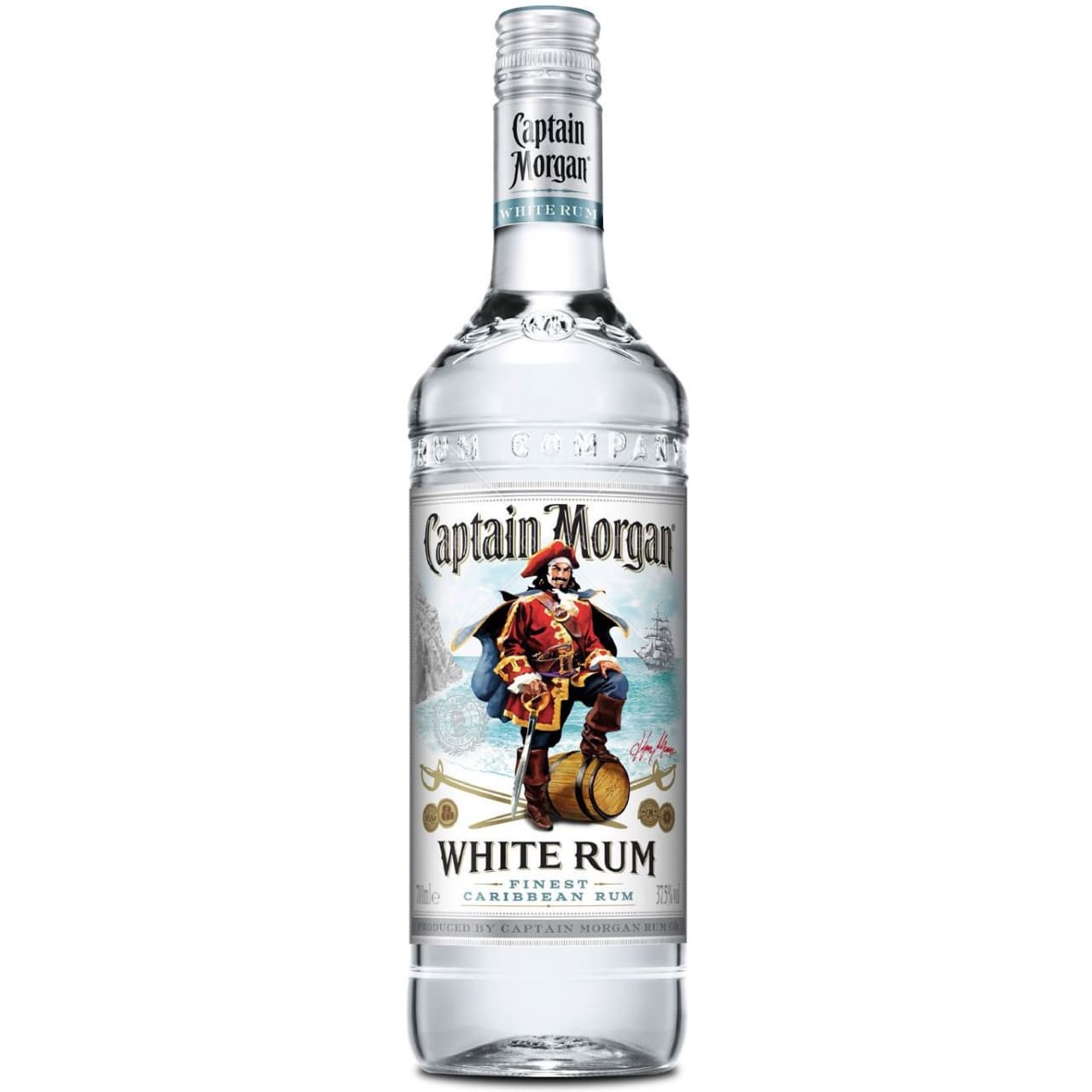 Product Image - Captain Morgan White Rum