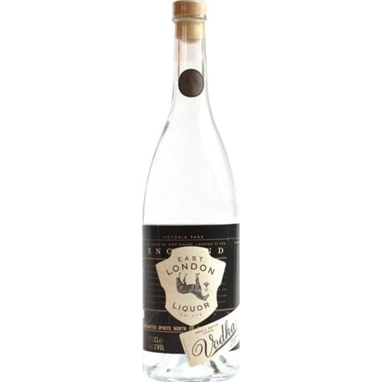 Product Image - East London Liquor Company Small Batch Vodka