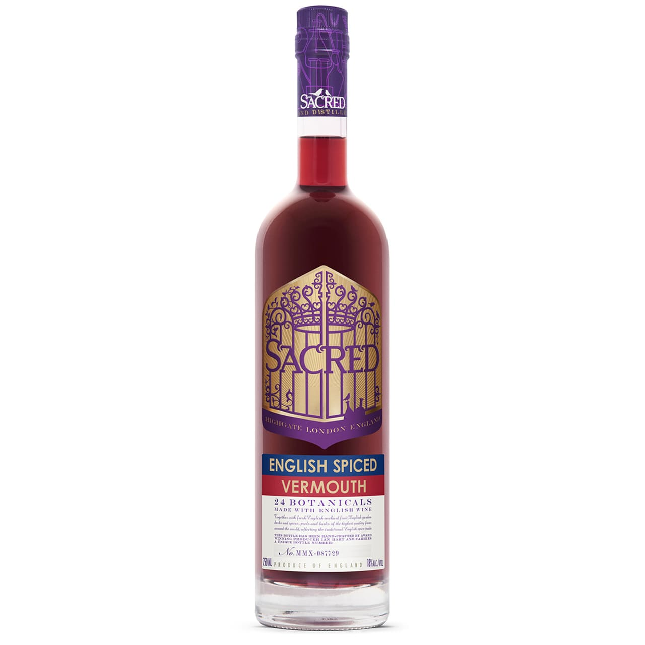 Product Image - Sacred Spiced English Vermouth