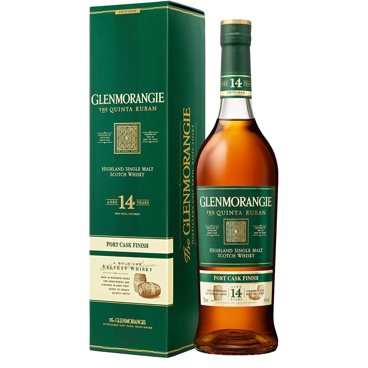 Product Image - Glenmorangie Quinta Ruban Single Malt