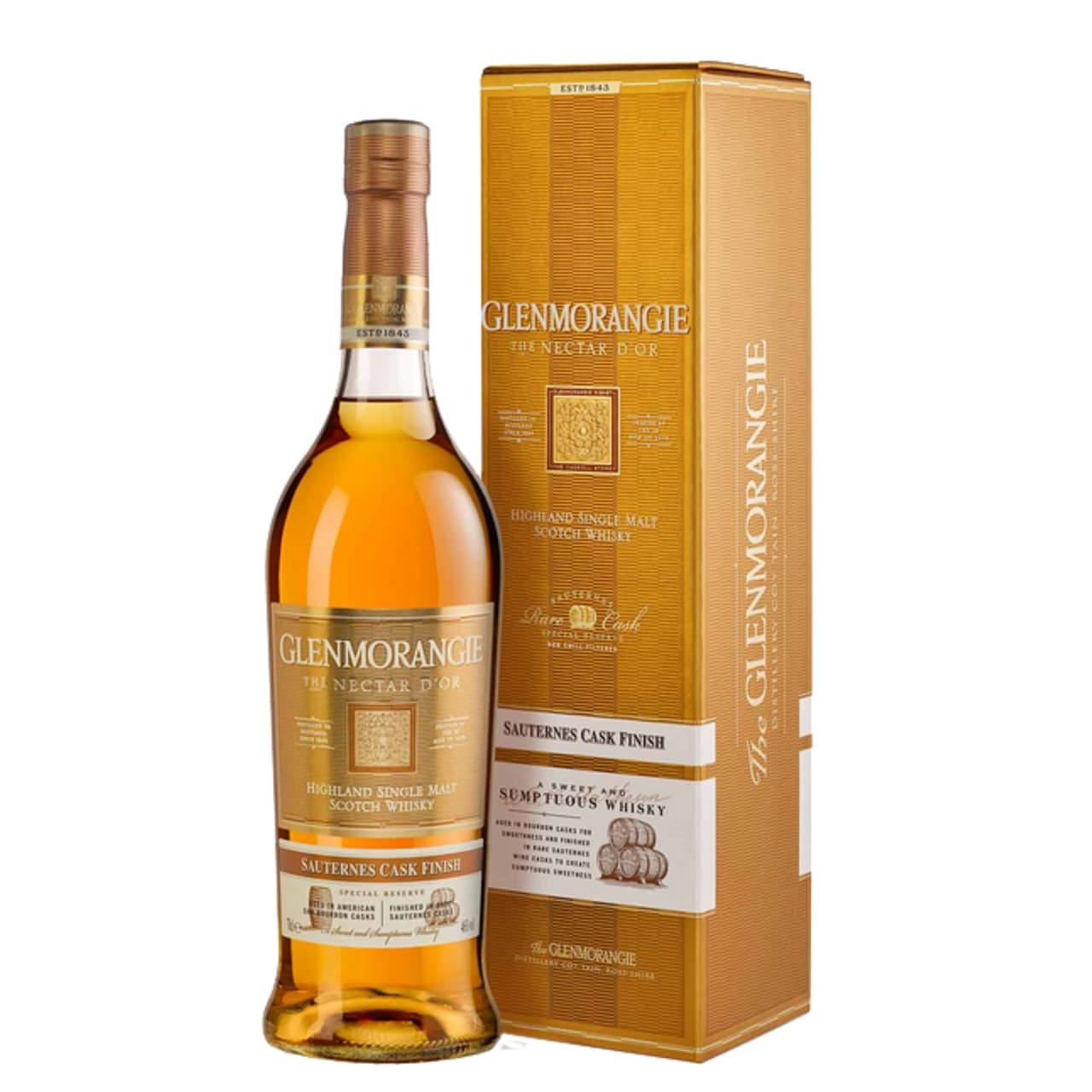Product Image - Glenmorangie Nectar D'Or Single Malt Sauternes Cask