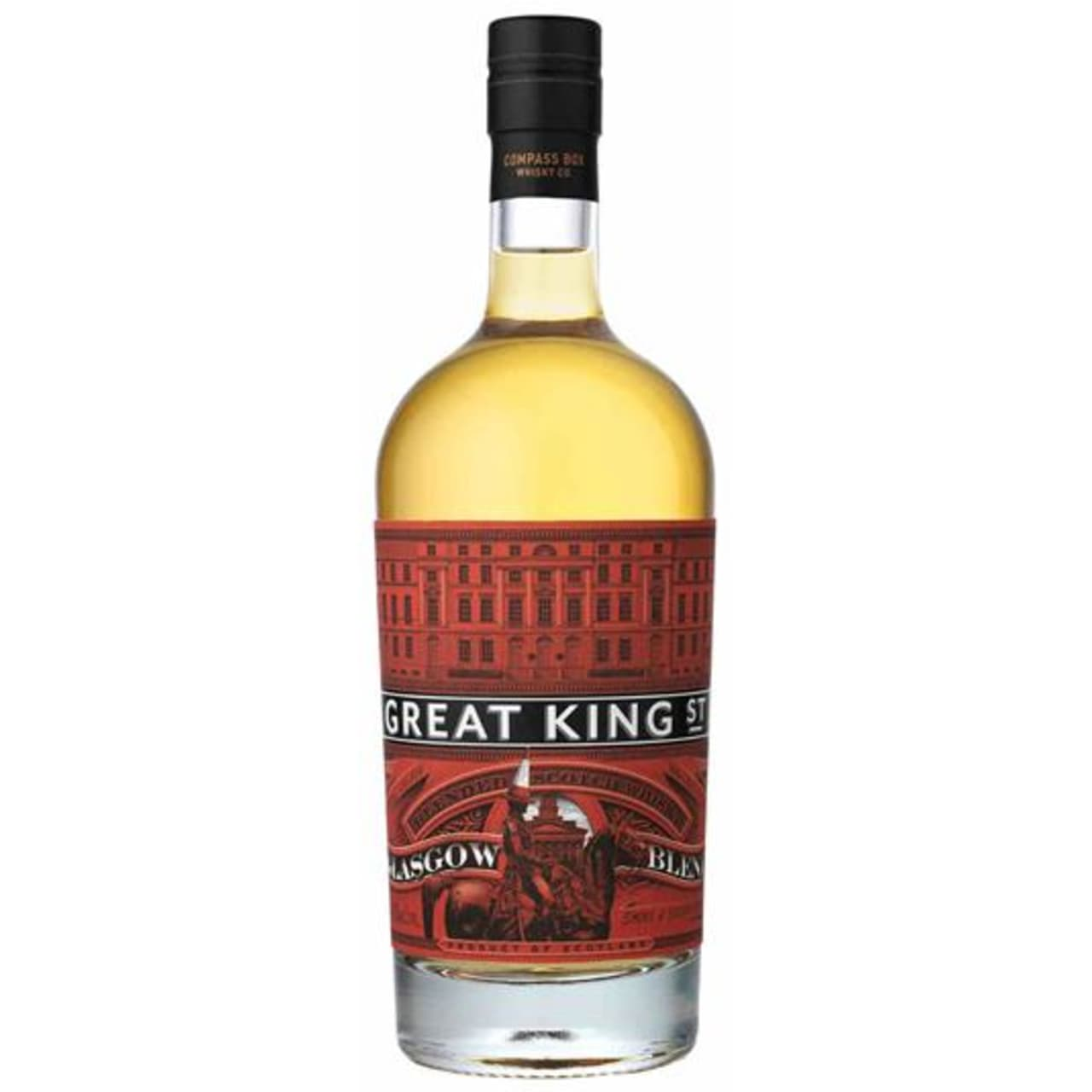Product Image - Compass Box Great King St. Glasgow Blend