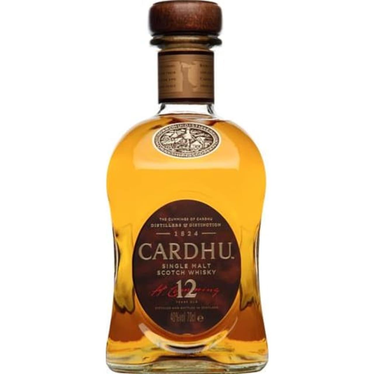 Product Image - Cardhu 12yo Single Malt