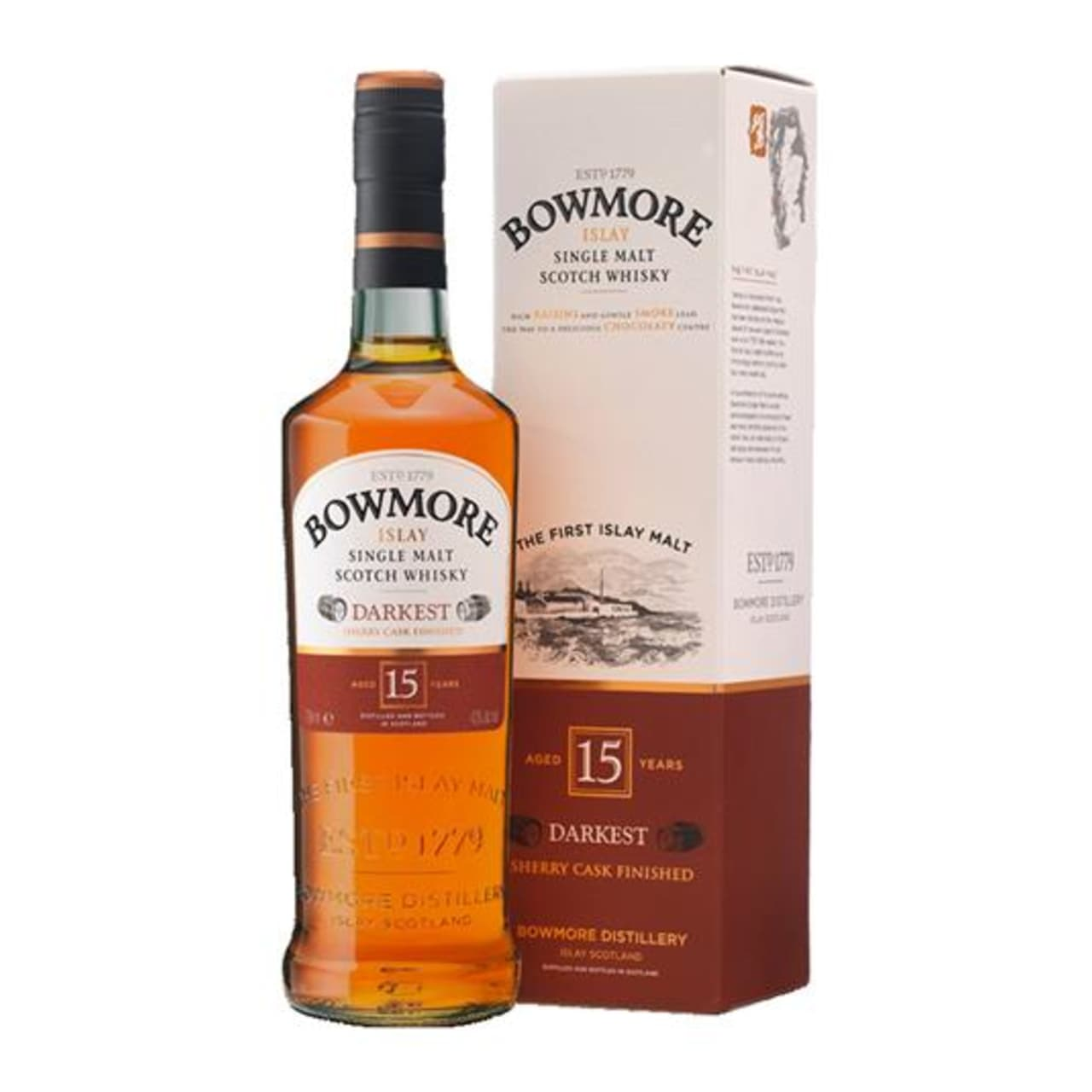 Product Image - Bowmore 15yo Single Malt