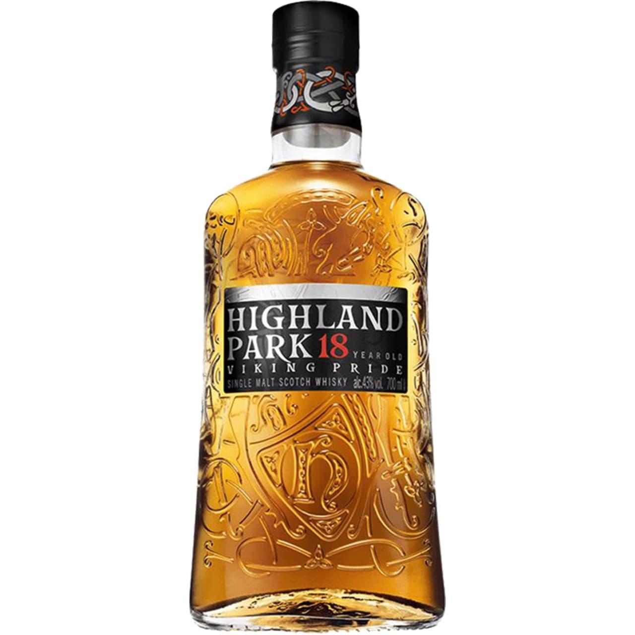 Product Image - Highland Park 18yo Single Malt Viking Pride