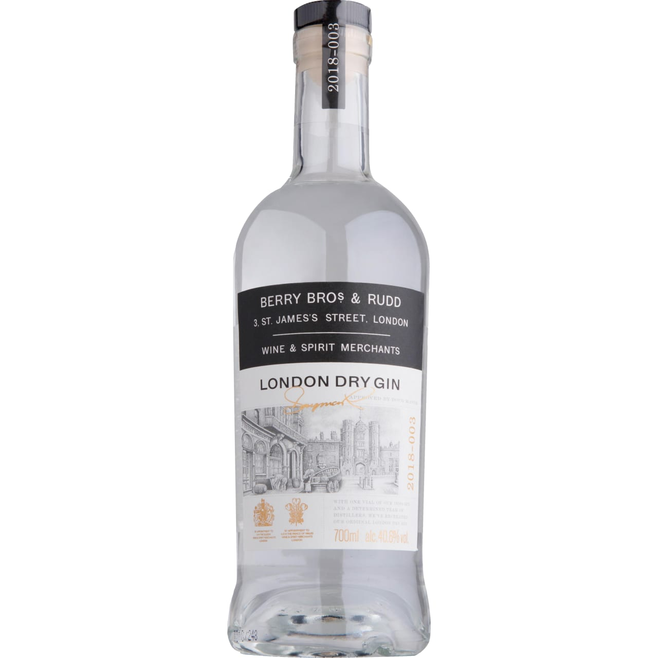 Product Image - Berry Bros and Rudd London Dry Gin