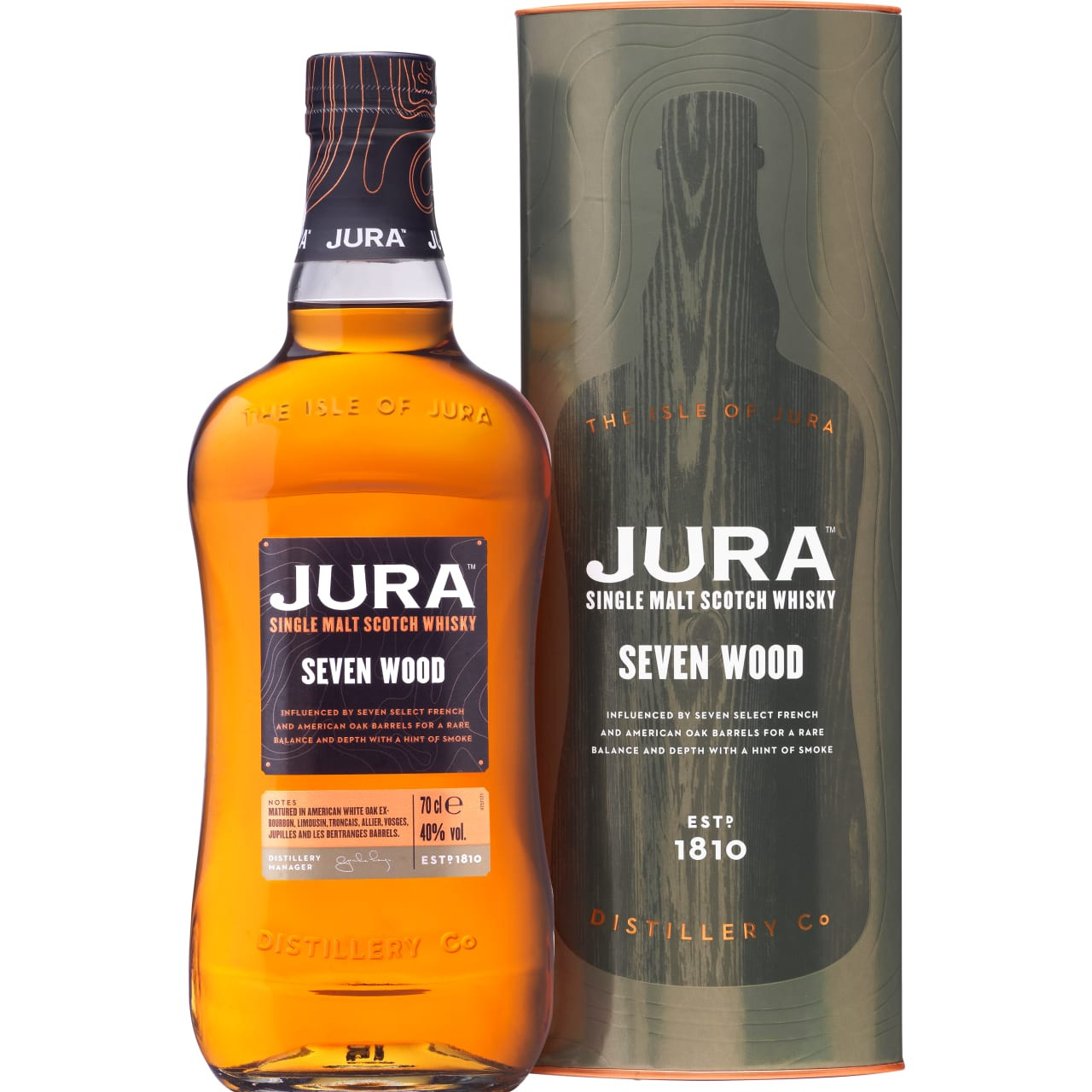 Product Image - Isle of Jura Seven Wood Single Malt