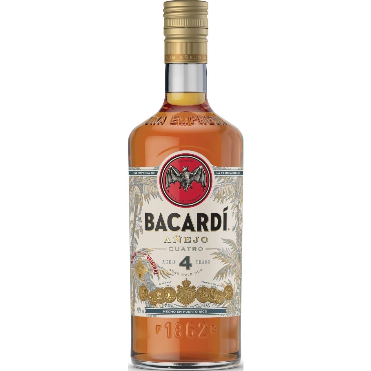Product Image - Bacardi Añejo Cuatro Rum