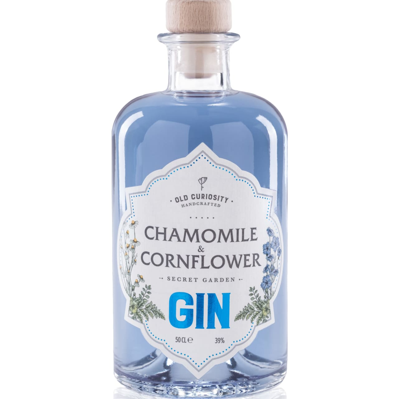 Product Image - Old Curiosity Chamomile & Cornflower Gin