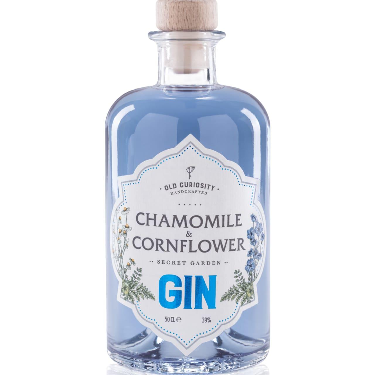Product Image - Old Curiosity Chamomile & Cornflower Gin