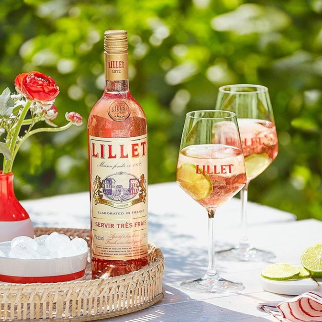 Lillet Rose Vermouth