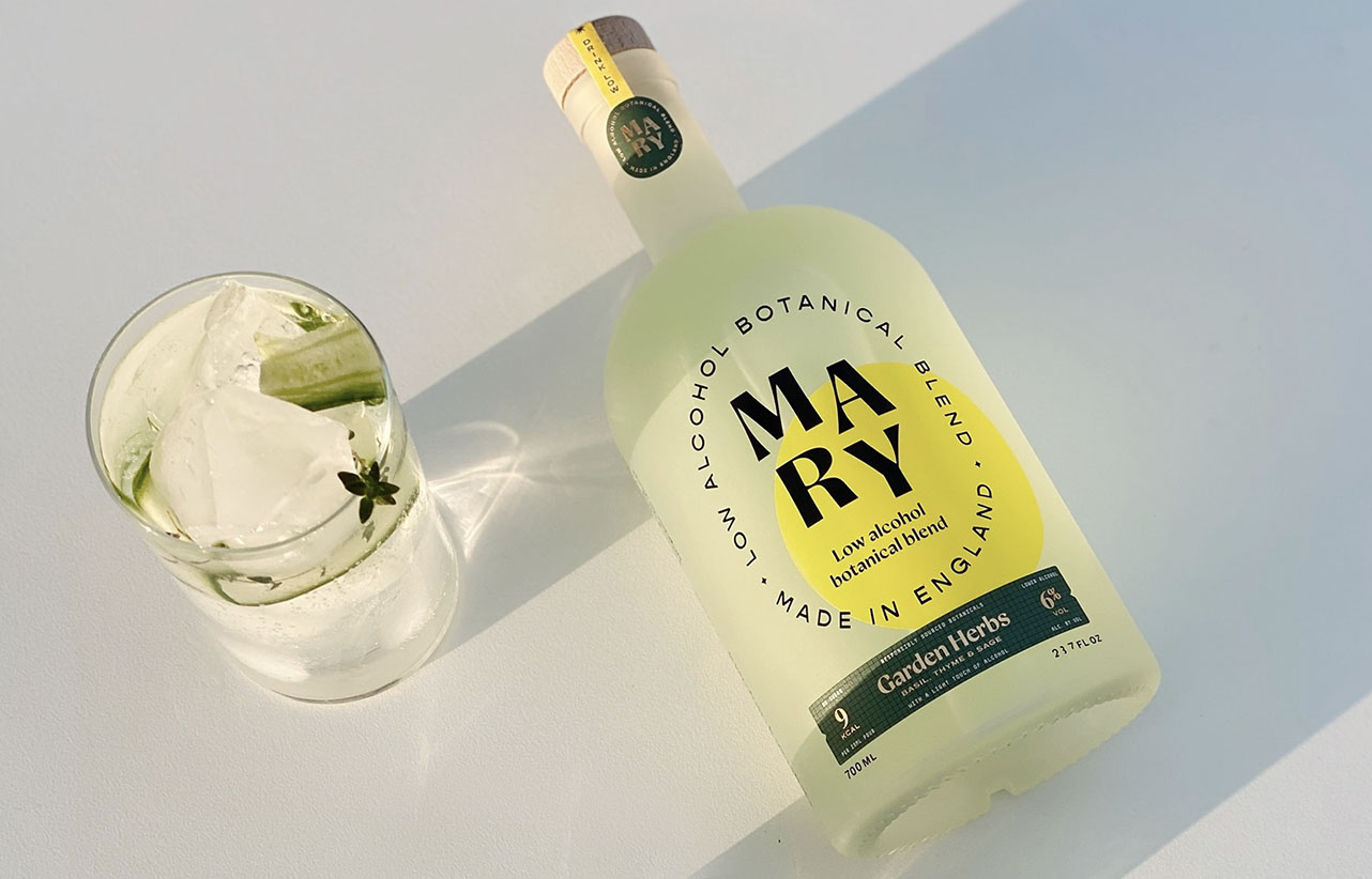 Mary low alcohol botanical blend