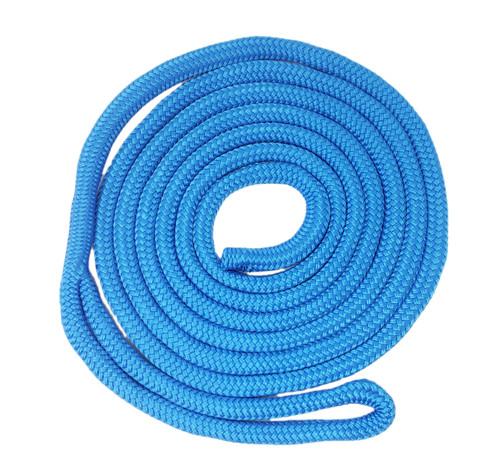 "Double Braid ""Yacht Braid"" Nylon Dock Line  in Blue"