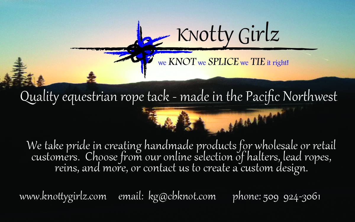 Knotty Girlz Equestrian rope tack