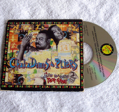 Ragga Hip Hop - Chaka Demus & Pliers with Jack Radice etc CD 1993