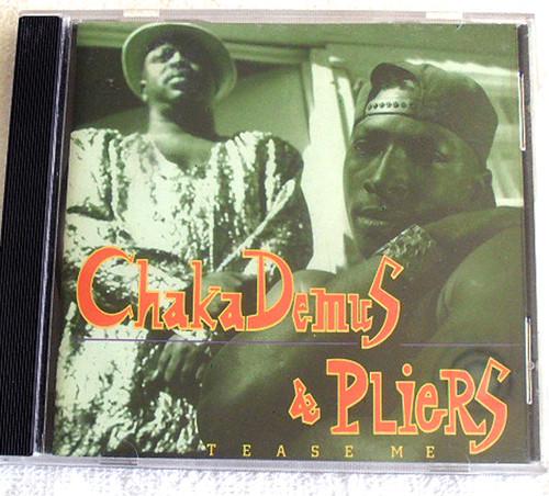 Reggae Pop - CHAKA DEMUS & PLIERS Tease Me CD 1994