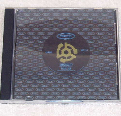 Arena Rock - Pearl Jam Immortality CD Single 1995