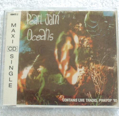 Rock - Pearl Jam Oceans  CD EP 1992