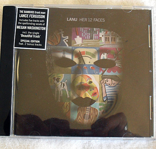 Electronica Pop  Lanu - (Lance Ferguson) Her 12 Faces CD 2011