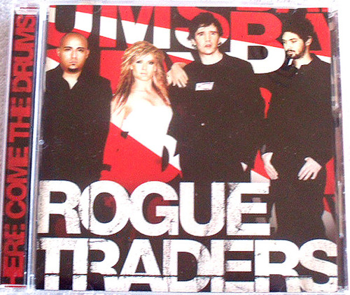 Electronic Pop - Rogue Traders Here Come The Drums CD 2005