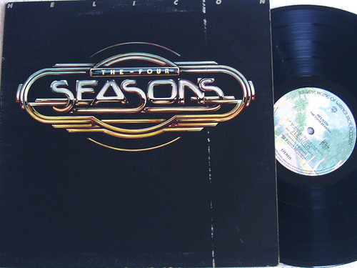 Pop Rock - THE FOUR SEASONS Helicon Vinyl 1977