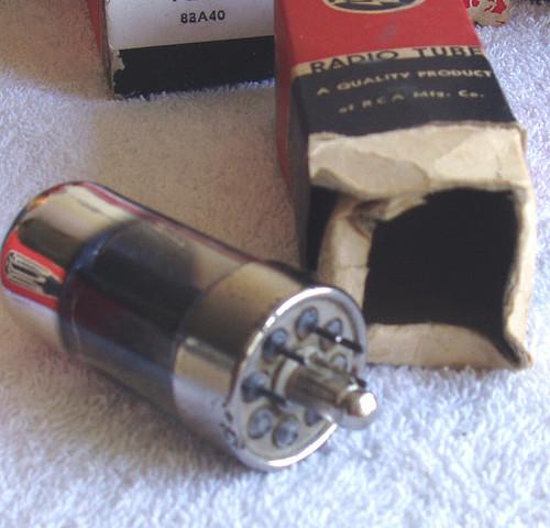 Beam Pentode Tube Valve 7A5 LOctal base NIB