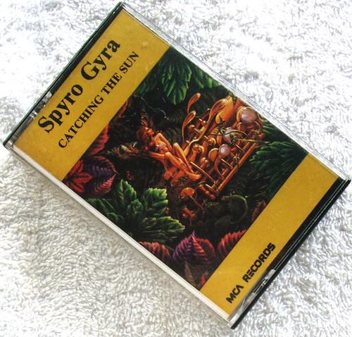 Instrumental Jazz Funk Fusion - SPYRO GYRA Catching The Sun Cassette 1980