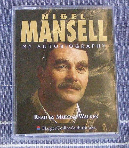Motor Sport Autobiography - Nigel Mansell - 2x cassettes NEW