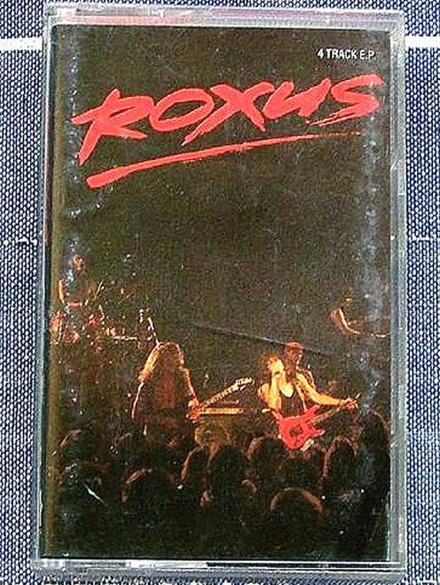 Australian Rock - Roxus Live EP Cassette 1990