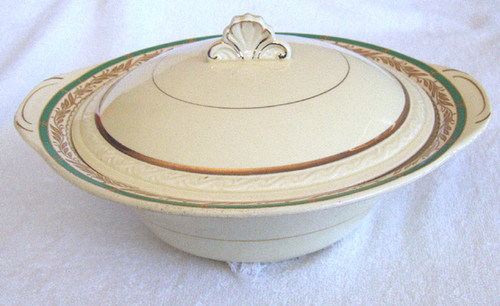 1930's Soup Tureen - Woods English Fine China (Ivorine China)