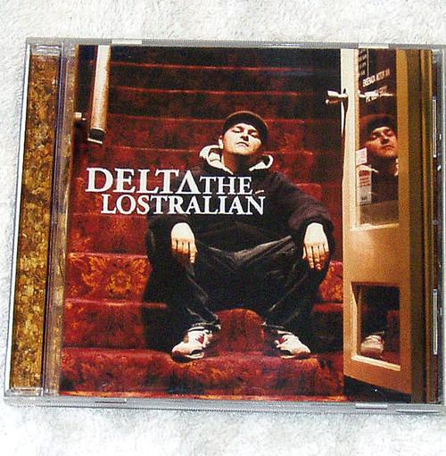 Australian Hip Hop - Delta The Lostralian debut CD 2005