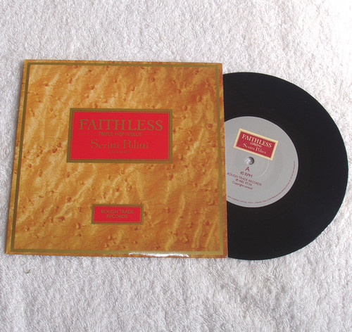 "Pop Rock - Scritti Politti Faithless (Triple-Hep N'Blue) 7"" Vinyl 1982"