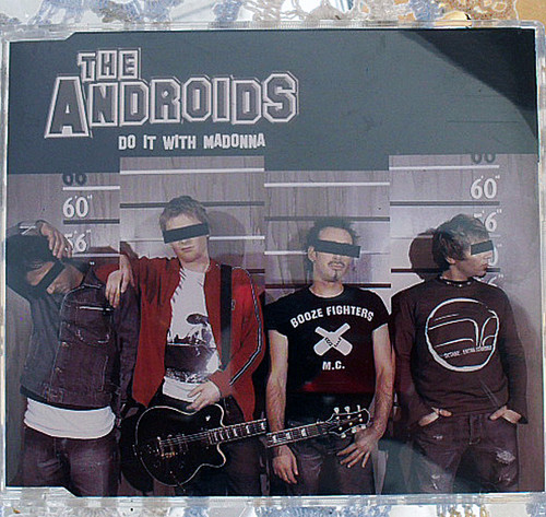 Aussie Rock CD - The Androids Do It With Madonna 2002