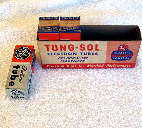 1940's Tube Valve TUNG-SOL  Type 1N5GT (Sharp cutoff Pentode) Unused Old Stock
