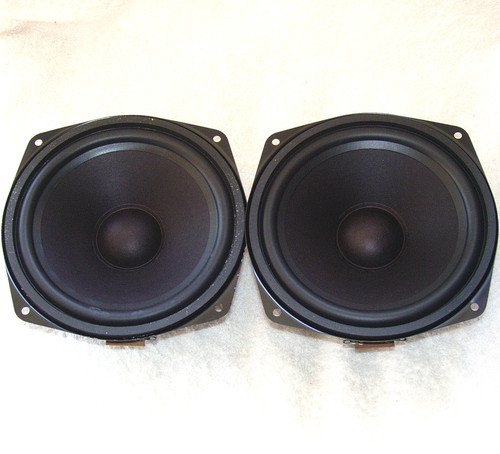 GRUNDIG Woofers (2) 80W RMS 20Hz 6 Inch Cone